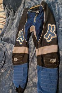 Mens fox BMX racing pants large 30 FOX